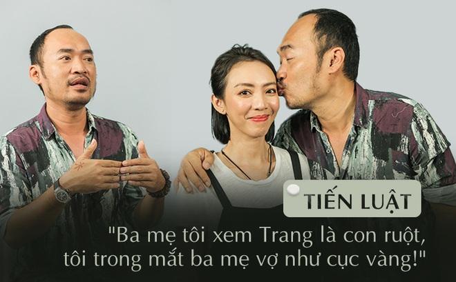 """Cuộc sống vợ chồng ly kỳ của gã """"đường phố"""" Tiến Luật và cô tiểu thư nhà giàu Thu Trang"""