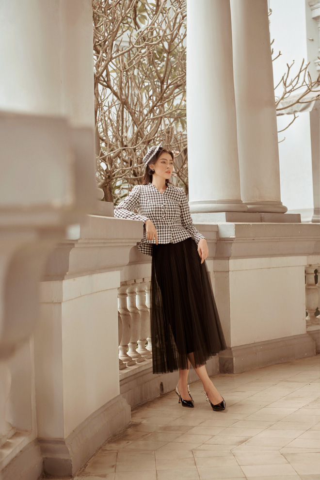 Á hậu Lý Kim Thảo mặc kín đáo vẫn quyến rũ - Ảnh 7.