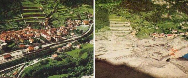 Kinh hoàng thảm họa vỡ đập lớn nhất thế giới ở Italy - Ảnh 5.