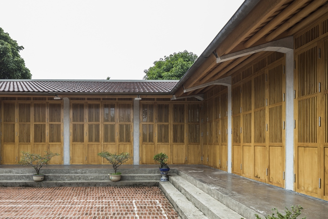 Ngôi nhà bằng gỗ xoan bề thế giữa vùng rừng cọ đồi chè nổi bật trên báo Mỹ - Ảnh 10.