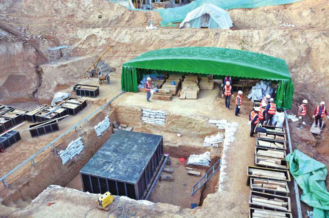 Khai quật đại mộ Tây Hán tìm thấy 3500 ml tiên dược: Kết quả phân tích mẫu khiến chuyên gia ngỡ ngàng - Ảnh 3.