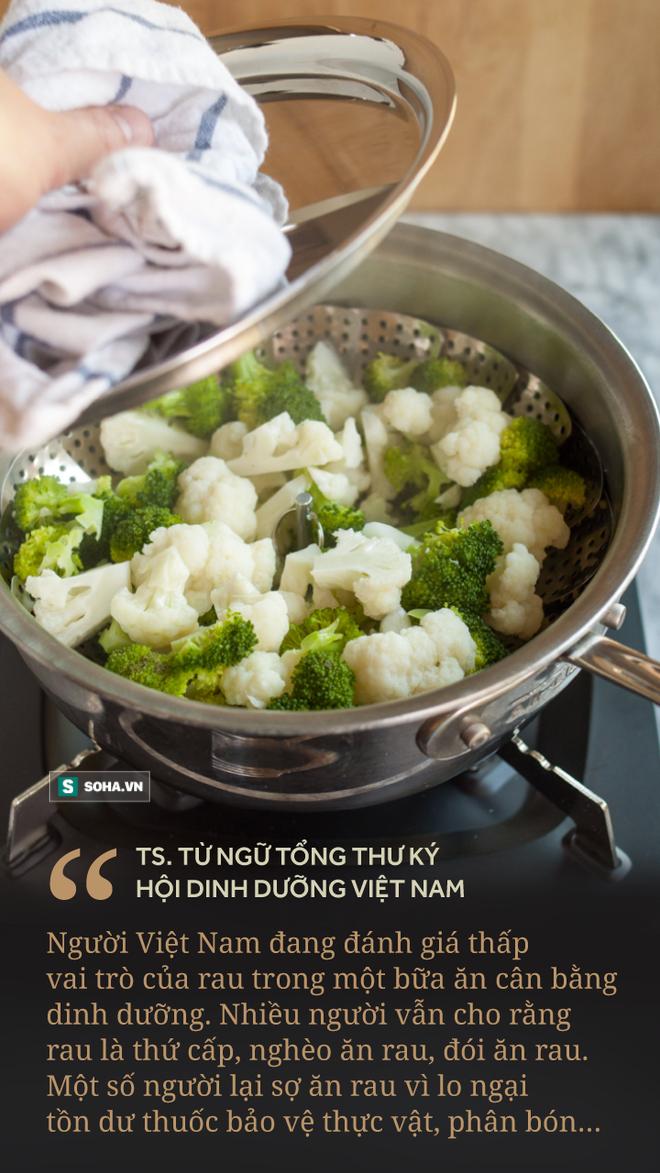 [Ảnh sức khỏe] Món ăn bị người Việt đánh giá thấp trong mâm cơm lại là thứ quét sạch chất độc ra khỏi ruột - Ảnh 1.