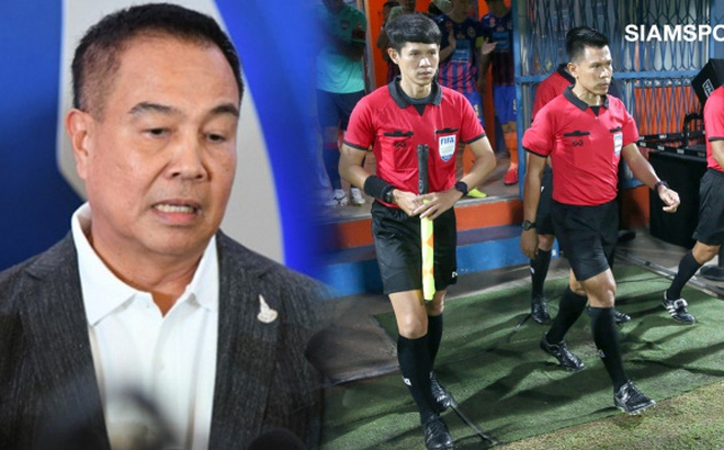 Trọng tài xử ép đội của Văn Lâm bị trả giá sau động thái hi hữu từ chủ tịch LĐBĐ Thái Lan