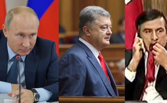 """""""Hãy quỳ gối cầu xin TT Putin đi"""": Ông Poroshenko mỉa mai Tổng thống Ukraine Zelensky"""
