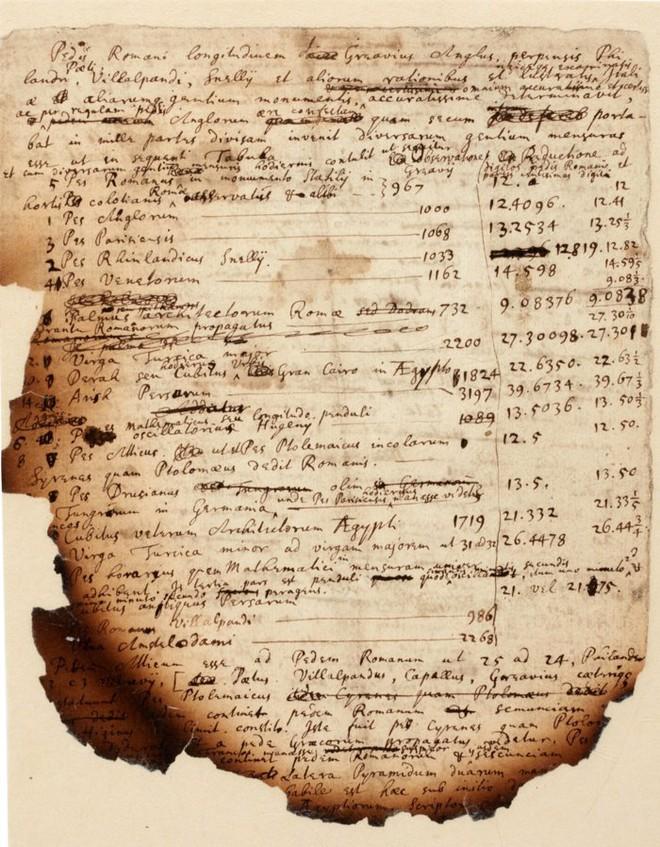 Trang sách có giá thầu 375.000 USD hé lộ tiên tri ám ảnh của Newton  - Ảnh 1.