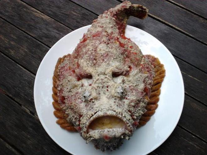 Cá xấu xí, khuôn mặt hung tợn chỉ cho gia cầm ăn thành món đắt đỏ, giá gần chục triệu/con - Ảnh 7.