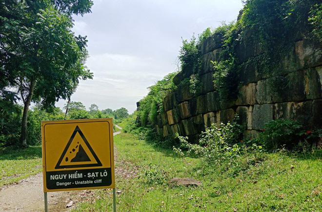 Thanh Hóa chi 14 tỉ đồng sửa tường thành ở di sản thế giới Thành nhà Hồ - Ảnh 3.