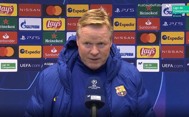 Barca thua thảm trước Juventus, HLV Koeman đổ tội cho học trò
