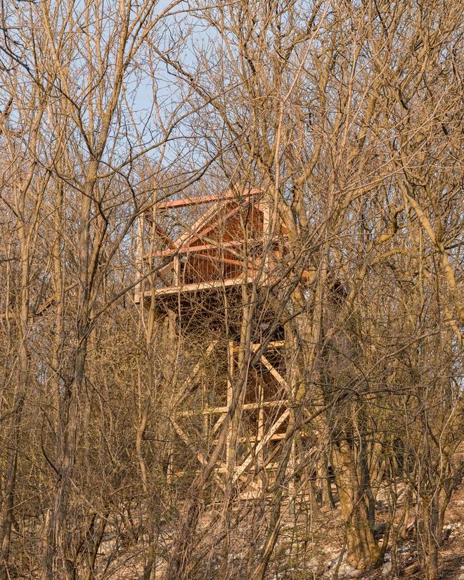 Độc đáo ngôi nhà vô cùng đơn giản, với 12 cái chân, tầm nhìn ra sông - Ảnh 9.