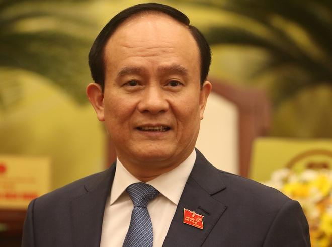 Chân dung Chủ tịch HĐND và 5 Phó Chủ tịch UBND TP Hà Nội vừa được bầu - Ảnh 2.