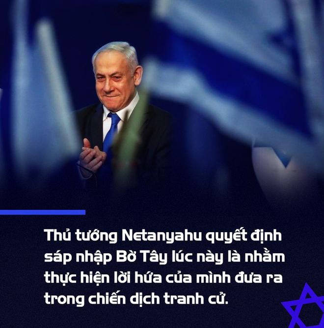 Tuyên bố sáp nhập Bờ Tây: Kế tranh thủ sự ủng hộ khi đối mặt hàng loạt cáo buộc của Thủ tướng Israel - Ảnh 3.