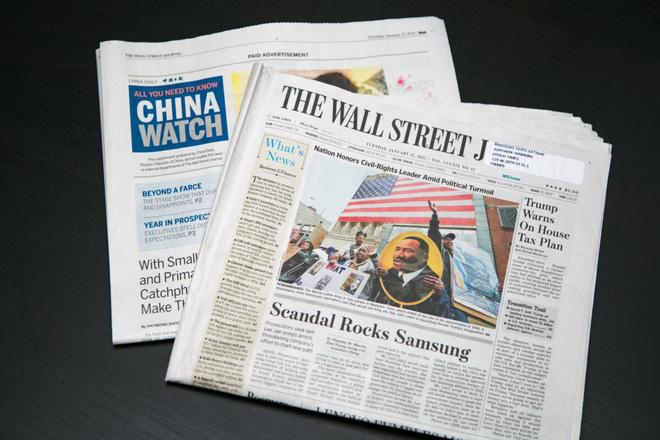 Báo Mỹ nhận 19 triệu USD chạy quảng cáo, làm truyền thông cho Trung Quốc - Ảnh 1.