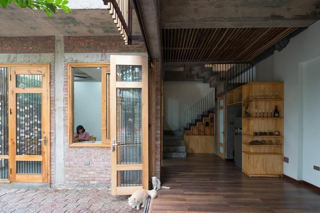 Ngôi nhà có cấu trúc mở ngập tràn ánh sáng tự nhiên - Ảnh 11.