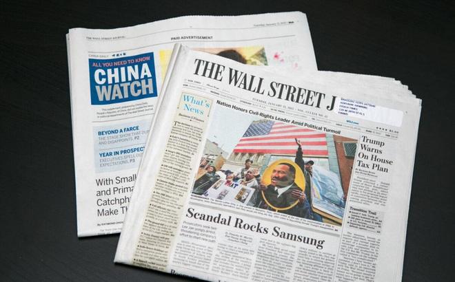 Báo Mỹ nhận 19 triệu USD chạy quảng cáo, làm truyền thông cho Trung Quốc