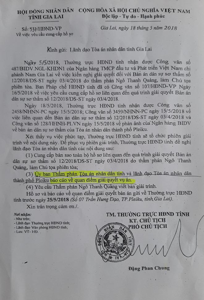 Phó Chủ tịch HĐND tỉnh Gia Lai có dấu hiệu can thiệp trái phép vào hoạt động Tòa án - Ảnh 1.