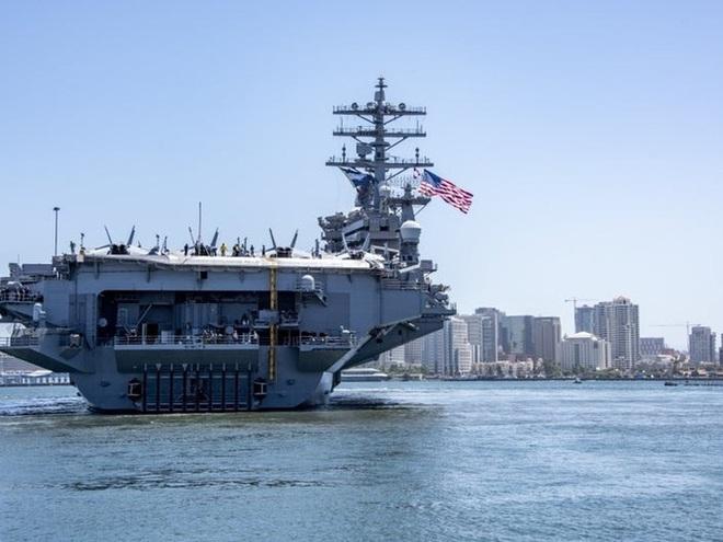 Ba tàu sân bay Mỹ đồng loạt đến Thái Bình Dương, chế ngự Trung Quốc - Ảnh 1.