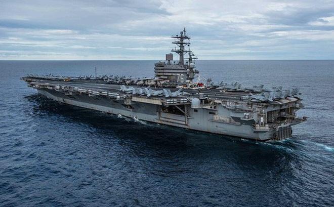 Ba tàu sân bay Mỹ đồng loạt đến Thái Bình Dương, chế ngự Trung Quốc