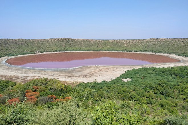 Hồ nước Ấn Độ bất ngờ đổi màu sắc chỉ sau một đêm - Ảnh 2.