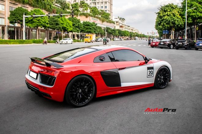 Audi R8 V10 Plus từng của vợ chồng Đông Nhi, Ông Cao Thắng lột xác độc đáo sau khi qua tay chủ nhân mới - Ảnh 2.