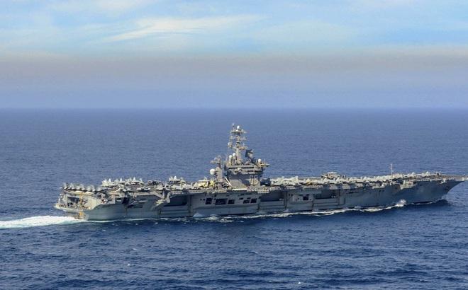 Uy lực 3 tàu sân bay Mỹ tái xuất trên Thái Bình Dương hậu COVID-19