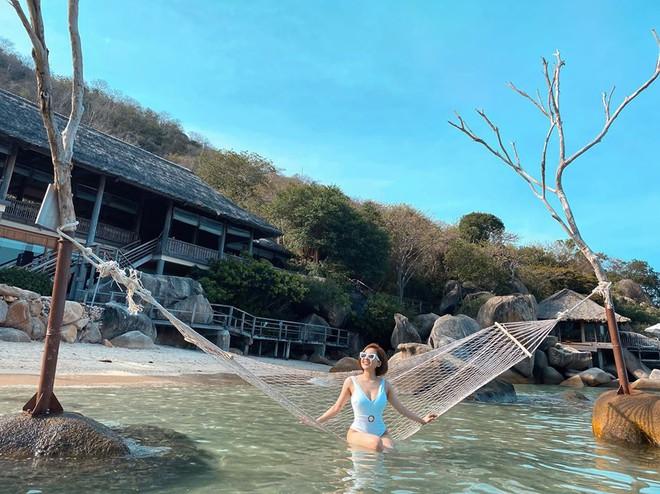Hot girl Trâm Anh lần đầu đăng ảnh bikini nóng bỏng sau biến cố - Ảnh 4.