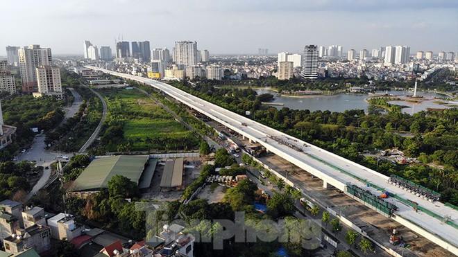 Con đường nghìn tỉ tại Hà Nội dự kiến thông xe vào 30/9 - Ảnh 1.