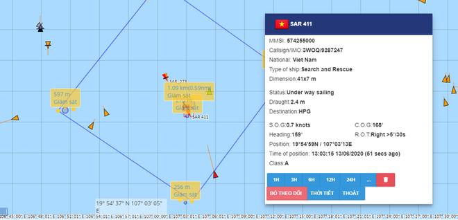 Tìm thấy 4 thi thể trên tàu cá bị đắm sau va chạm ở vùng biển Hải Phòng - Ảnh 1.