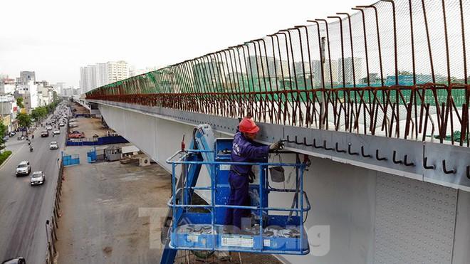 Con đường nghìn tỉ tại Hà Nội dự kiến thông xe vào 30/9 - Ảnh 7.