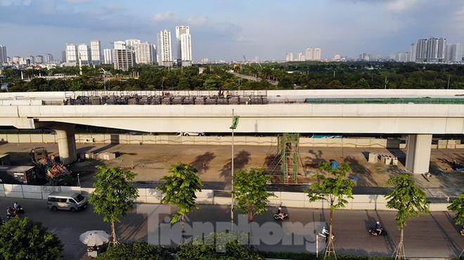 Con đường nghìn tỉ tại Hà Nội dự kiến thông xe vào 30/9 - Ảnh 9.