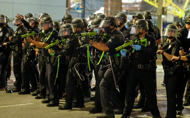 Đạn cao su được sử dụng để trấn áp người biểu tình Mỹ sát thương mạnh đến mức nào?