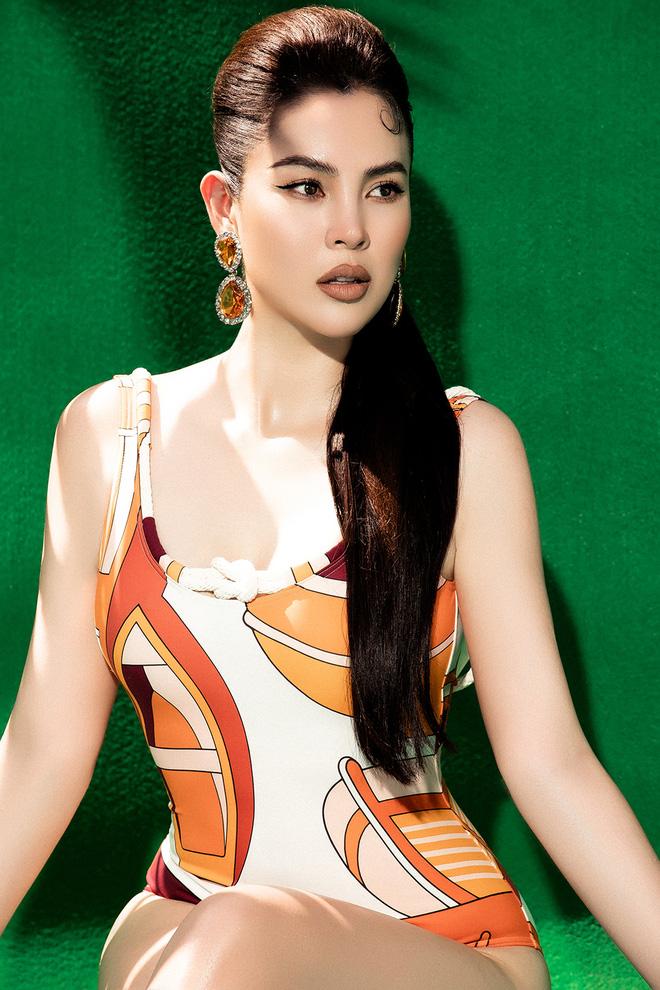 Dù đã 3 lần sinh nở, vóc dáng của Hoa hậu Phương Lê vẫn gợi cảm khó rời mắt - Ảnh 7.