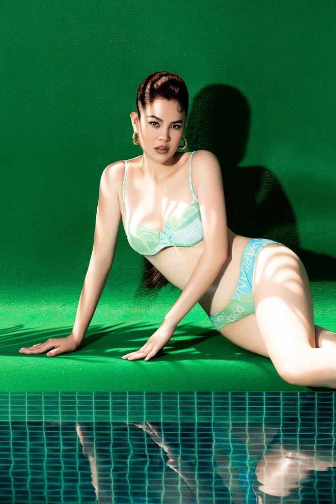 Dù đã 3 lần sinh nở, vóc dáng của Hoa hậu Phương Lê vẫn gợi cảm khó rời mắt - Ảnh 2.