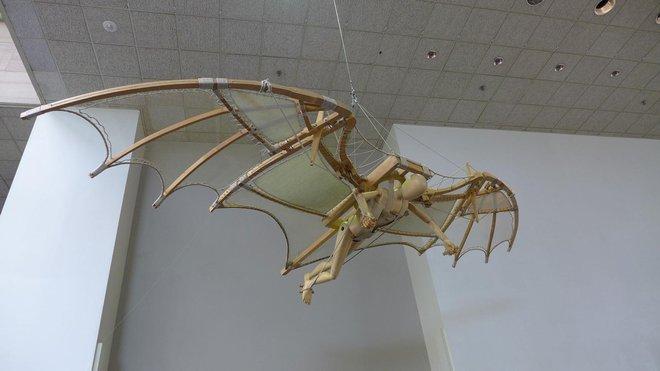 Những phát minh thể hiện trí tuệ siêu phàm của Leonardo da Vinci - Ảnh 1.