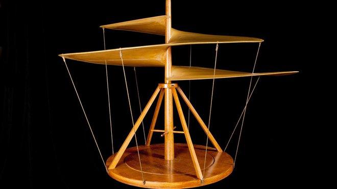 Những phát minh thể hiện trí tuệ siêu phàm của Leonardo da Vinci - Ảnh 10.