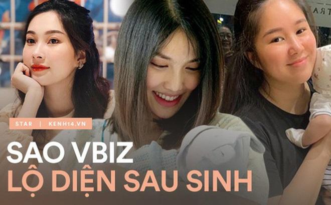 Hội mẹ bầu Vbiz lần đầu lộ diện hậu sinh nở: Đặng Thu Thảo đúng là thần tiên tỷ tỷ, body Diệp Lâm Anh - Suboi quá đáng nể