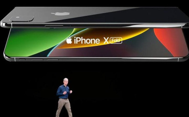 Apple cũng đang phát triển một chiếc iPhone màn hình gập, nhưng không giống Samsung Galaxy Fold