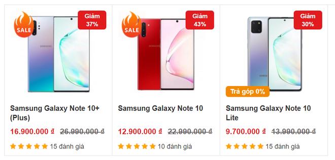 Galaxy Note 10 và Note 10 Plus giảm giá chưa từng có trong tháng 6 - Ảnh 1.