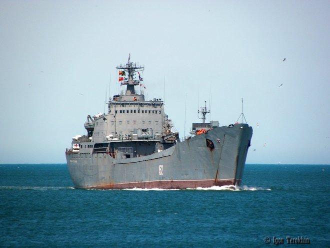 Tàu đổ bộ cỡ lớn của Hải quân Nga còn tệ hơn cả phà vận chuyển xe hơi: Hé lộ sự thật sốc! - Ảnh 5.