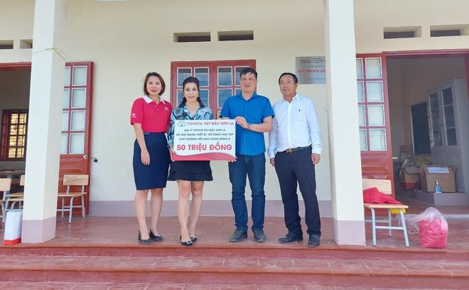 Quỹ Toyota Việt Nam nỗ lực xây dựng trường học cho trẻ em vùng cao - Ảnh 3.