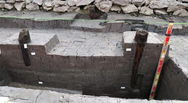 Thêm 37 cọc gỗ phát lộ được nhận định liên quan đến trận Bạch Đằng - Ảnh 6.