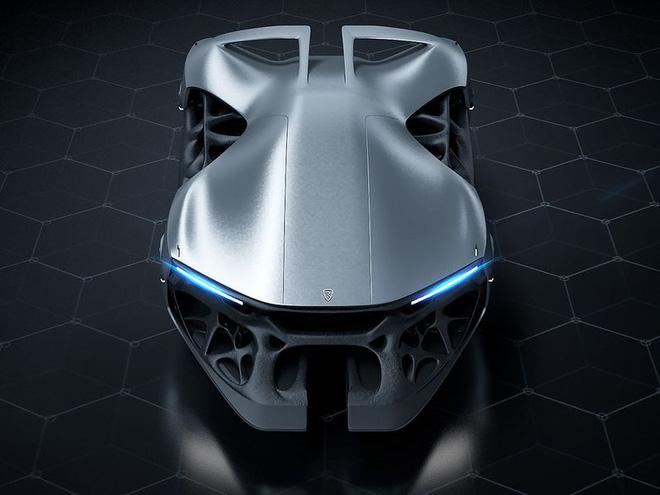 Chiếc xe hơi công suất 3.000 mã lực được chế tạo cho năm 2080 - Ảnh 1.