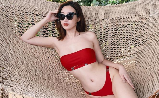 Loạt ảnh mặc bikini nóng bỏng của hoa hậu Đỗ Mỹ Linh