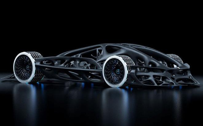 Chiếc xe hơi công suất 3.000 mã lực được chế tạo cho năm 2080