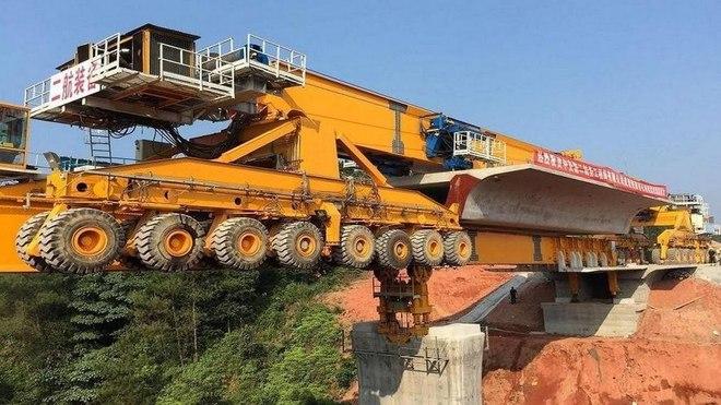 Quái vật sắt SLJ900/32 giúp Trung Quốc xây dựng những cây cầu dài nhất thế giới - Ảnh 2.