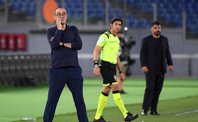 Mất Cúp Quốc gia Italia, vị trí của HLV Sarri bị đe doạ tại Juventus