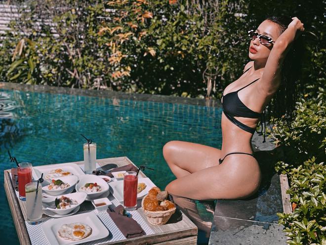 DJ Tít khoe vóc dáng bốc lửa khi mặc bikini  - Ảnh 4.