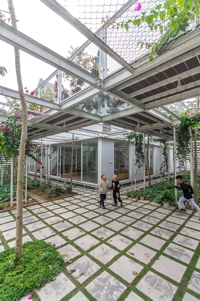 Lớp học giữa không gian cây và hoa tại thành phố Hạ Long - Ảnh 8.