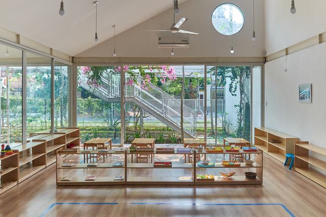 Lớp học giữa không gian cây và hoa tại thành phố Hạ Long - Ảnh 4.