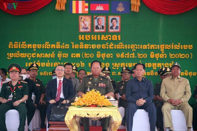 Kỷ niệm 43 năm Thủ tướng Campuchia sang Việt Nam tìm đường cứu nước - Ảnh 1.
