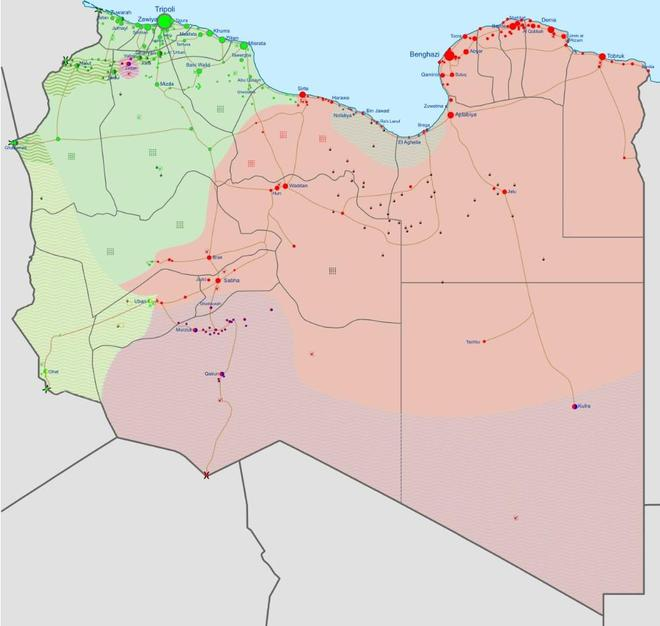 Ai Cập và Thổ Nhĩ Kỳ tiến sát bờ vực chiến tranh ở Libya, chỉ Mỹ có thể giải quyết? - Ảnh 1.